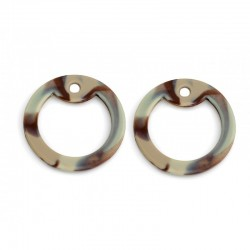 Silicone SILENCERS, 2 pcs. BROWN CAMO