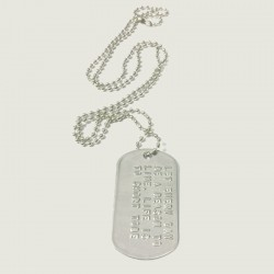 DOGTAG set, Silver plated
